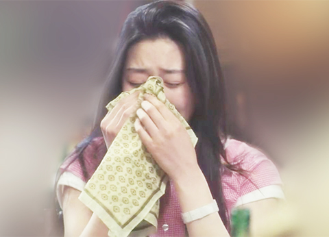 wipe away tears