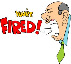 炒鱿鱼 (chǎo yóuyú) get fired