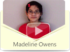 Madeline Owens has lived in China until she was 2 years old and now living in America, she is sharing the Chinese learning experience with eChineseLearning and how the teacher helped her Mandarin on speaking and writing.