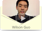 Wilson Guo, a Chinese American, is sharing his improvements in Mandarin Chinese through eChineseLearning's 1-to-1 live online Chinese classes.