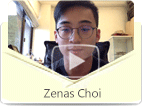 Zenas Choi, a sophomore student at NYU, expresses his satisfaction to eChineseLearning's convenient services and professional teachers. His spoken Mandarin has improved a lot with the help of his primary teacher Jocelyn.