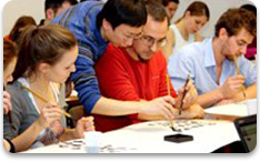 Mandarin Chinese immersion activities-Chinese calligraphy lessons