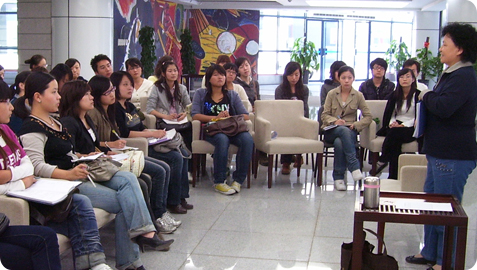 Teachers at our Chinese language school